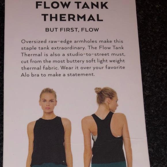 62cfa6a769 ALO Yoga Tops | Flow Tank Thermal Smoky Quartz | Poshmark